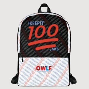 IKeepIT100 Back Pack