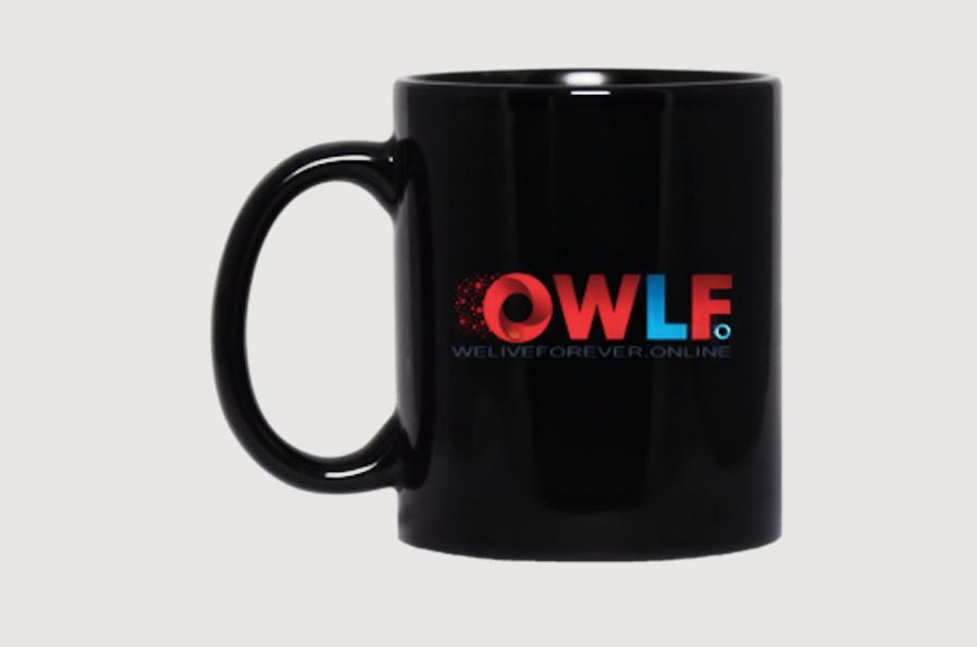 WeLiveForever.Online Mug